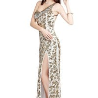 Primavera 9686 Ivory Evening Dress