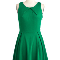So Profesh and So Green Dress | Mod Retro Vintage Dresses | ModCloth.com
