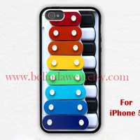 iPhone 5 Case, Toy iphone 5 case, Toy Xylophone iphone 5 case, Toy Xylophone graphic iphone 5 case