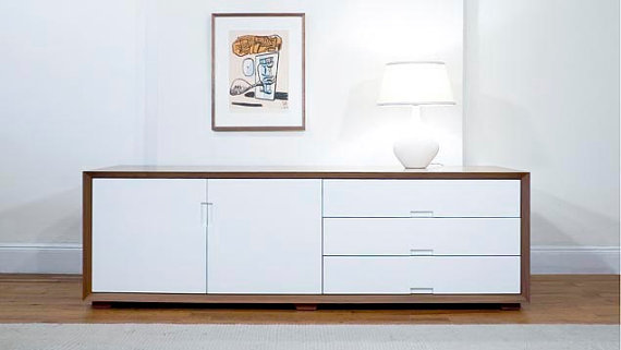 30 Best Images About White Wood Furniture On Pinterest Mid Century Credenza Vintage And Mid Century Sideboard
