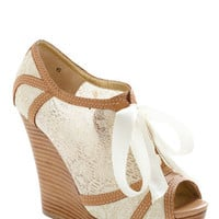 Seychelles Harmony Wedge | Mod Retro Vintage Wedges | ModCloth.com