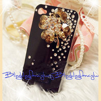 iphone 4 case, iphone 5 case, iphone 4s case, Bling iphone 5 case, cute iphone 5 case skin, rhinestone iphone case christmas