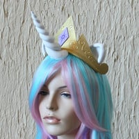 Princess Celestia crown -  My Little Pony costume / Friendship is Magic / cosplay / costume / Princess Celestia tiara