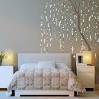 Weeping Willow Tree Wall Sticker – WallStickerDeal.com