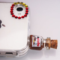 Nutella Pluggy/ Phone/Iphone plug/ Headphone Jack/Plug