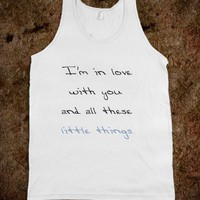 One Direction Little Things Tank (purple)