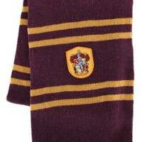 Amazon.com: Harry Potter Gryffindor House Scarf (Maroon & Gold): Clothing