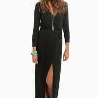 Mimi Maxi Wrap Dress $37