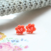 chrysanthemum bud earrings - $9.99 : ShopRuche.com, Vintage Inspired Clothing, Affordable Clothes, Eco friendly Fashion