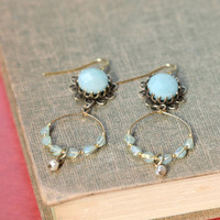 minorca ante dangling indie earrings - $35.99 : ShopRuche.com, Vintage Inspired Clothing, Affordable Clothes, Eco friendly Fashion