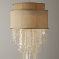 Dripping Shell Chandelier - Horchow