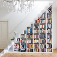 "PLASTOLUX  ""keep it modern"" » A modern staircase, storage solution and playroom - Marc Koehler"