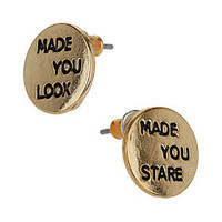 Made You Look Stud Earrings - New In This Week  - New In