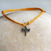 Dragonfly Bracelet / Dragonfly Anklet (24 color to choose)