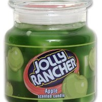 Jolly Rancher Apple Jar Candle