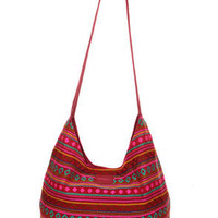 O&#x27;Neill Sancho Woven Red Hobo Bag