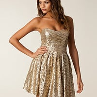 Turlington Sequin Dress, TFNC