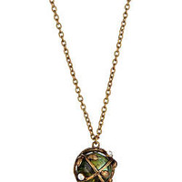 Beyond Rings Crystal Ball Necklace - Max and Chloe