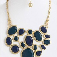Trendy Clothing, Fashion Shoes, Women Accessories | The Statement Necklace In Blue  | LoveShoppingMiami.com