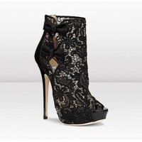 Jimmy Choo Lace Ankel Pumps [2011092423] - $247.00 : shoesoutletus.com, shoesoutletus.com