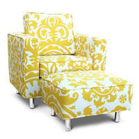 Jennifer DeLonge - Ava Chair and Ottoman