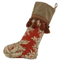 I love the Bellingrath Stocking in Tuscan Red in the Luxe & Lavish event at Joss and Main!