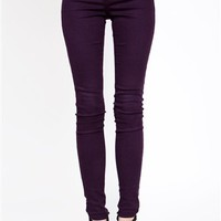 Colored Skinny Jeans- Plum Jeans- $59.99