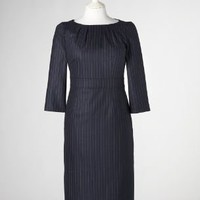 Chic Wool Dress BQ008 Knee Length Dresses at Boden