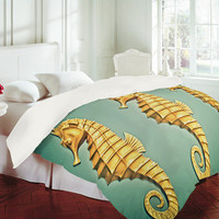 DENY Designs Home Accessories | Shannon Clark Seahorse Duvet Cover