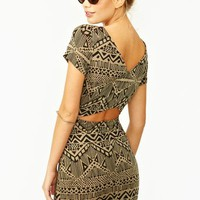 Mayan Cutout Dress