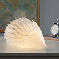 The Land of Nod: Kids' Nightlights:Hedgehod Lamp Nightlight in All Lighting