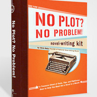 No Plot No Problem Novel-Writing Kit