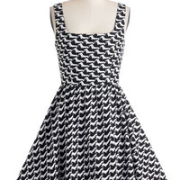 Hound Sleuth Dress | Mod Retro Vintage Dresses | ModCloth.com