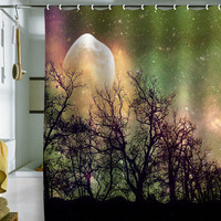 DENY Designs Home Accessories | Shannon Clark Moon Magic Shower Curtain