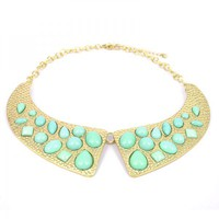 Mint Collar Necklace on Luulla
