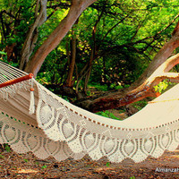 Off White Almanza Hammock Royale WeddingHammockVIEW VIDEO