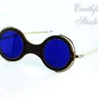 Steampunk Goggles - Sale & Free Shipping 1920's Willson Steampunk Furnace Goggles With Box - Earthfire Studios