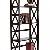 Montego 4-Shelf Bookcase - Open Bookcases - Bookcases - Furniture | HomeDecorators.com