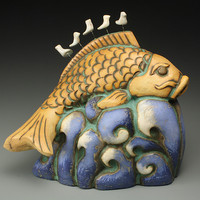 Living the Dream by Cathy Broski: Ceramic Sculpture - Artful Home