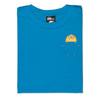 Jake in Pocket T-Shirt - Teal,