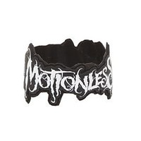 Motionless In White Logo Die-Cut Rubber Bracelet - 152460
