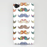 Mustache Mania iPhone Case by Bianca Green | Society6
