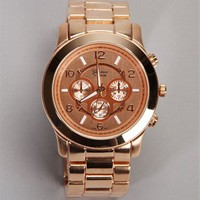 Rose/Gold Lux Watch