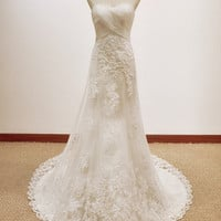 2012 of the wedding dress church Korean royal big trailing elegant tall waist high-grade perfect marriage gauze
