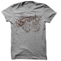 The Hobbit - Barefoot Beer T Shirt