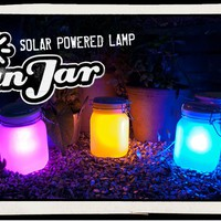Sun Jar : Solar powered garden lights - Free sunlight forever