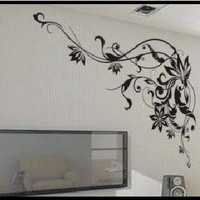 Vine Frame  Wall Decal Wall Sticker Home Decal Home Sticker