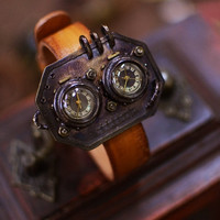 punks Cuff  type  STEAMBOY   vintage style handmade by revolt70