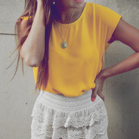 It's So Lacey Shorts: Ivory       | Hope's