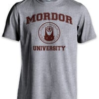 Mordor University Hobbit Parody T Shirt